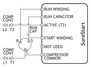 220 Volt 1 Phase Compressor Wiring Diagram - Example Electrical ...